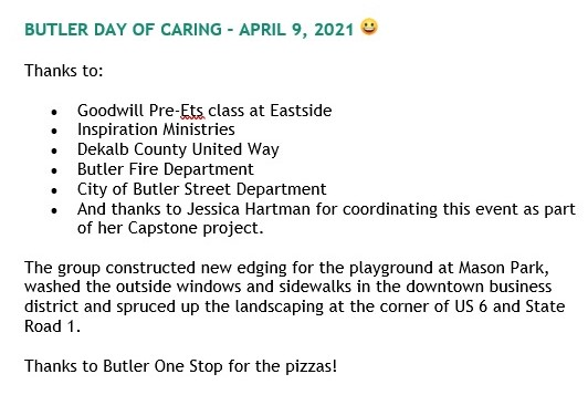 Text - Day of Caring - 4-9-2021