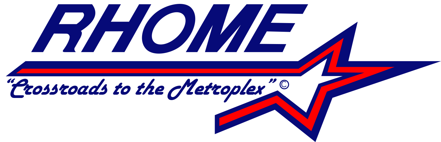 City of Rhome Logo 5x2 300dpi with tagline